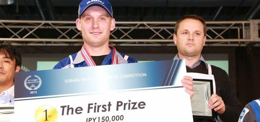 Michael Cooper - Best Subaru Technician Winner - Subie Doctor